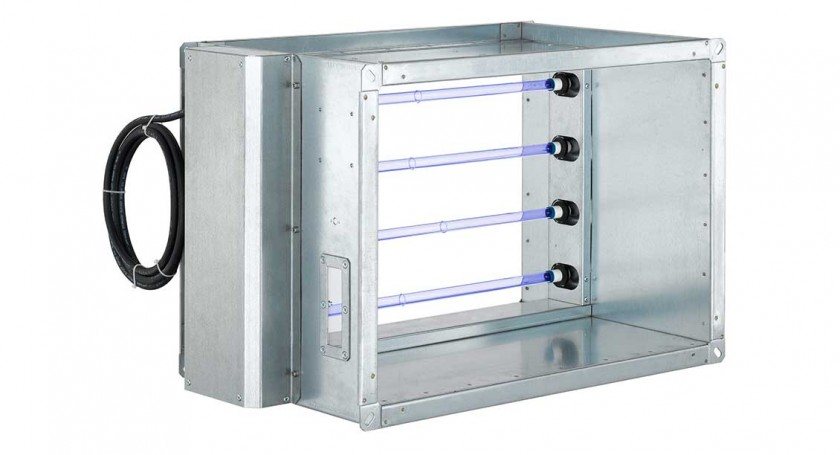 Supply Air Disinfection Module for Air-Conditioning and Ventilation Systems